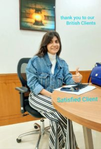 Satisfied Client from British Embassy